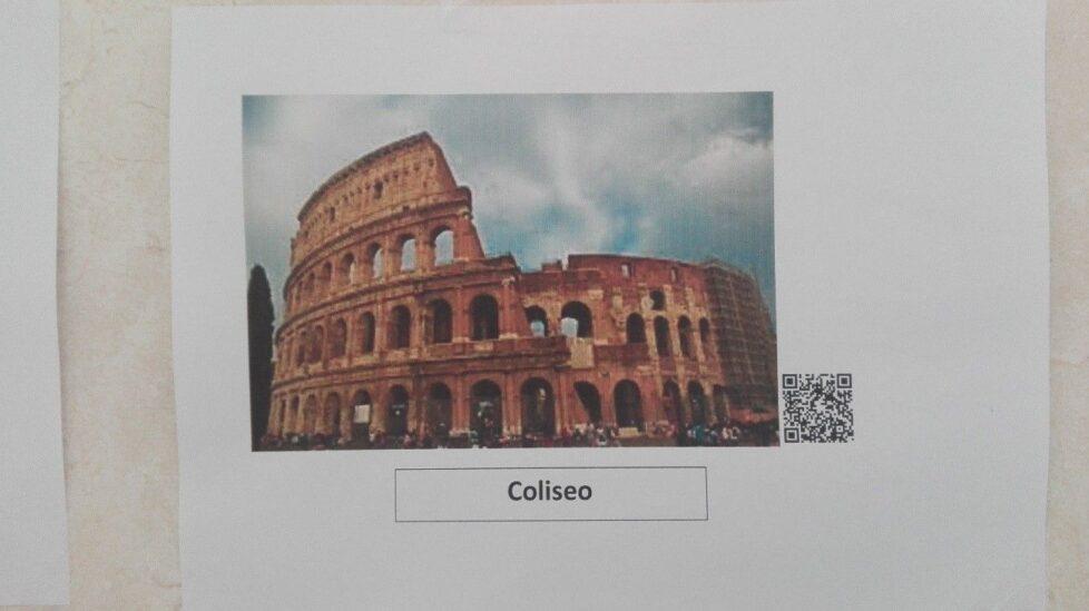Coliseo código qr