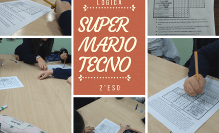 Super Mario llega a clase