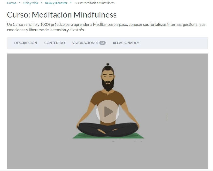 Cursos de mindfulness para docentes