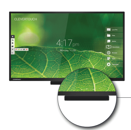 monitores CleverTouch High Pro Precision