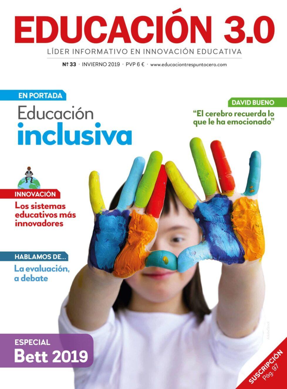 portada revista educación 3.0