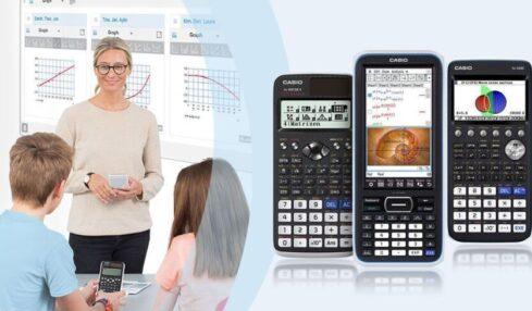 calculadora en clase casio