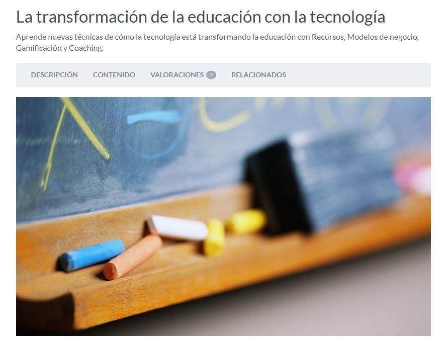 La transformación de la educación con la tecnología