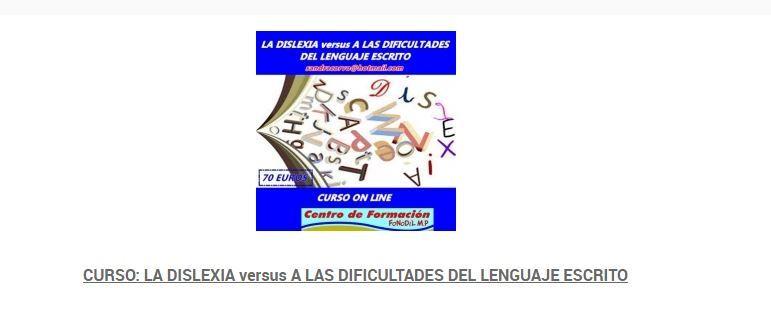 La dislexia frente a las dificultades del lenguaje escrito