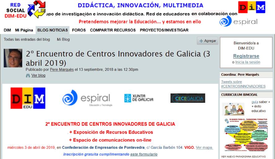 2ª Encuentro de Centros Innovadores de Galicia