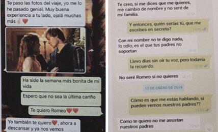 WhatsApp Romeo y Julieta