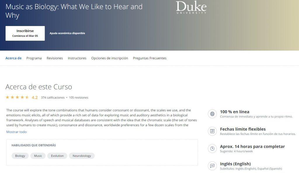 La música como biología: Qué nos gusta escuchar y por qué