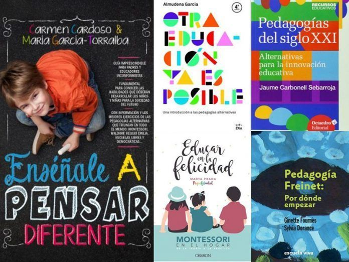 libros Pedagogias alternativas