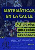 Matemáticas en la calle 2019