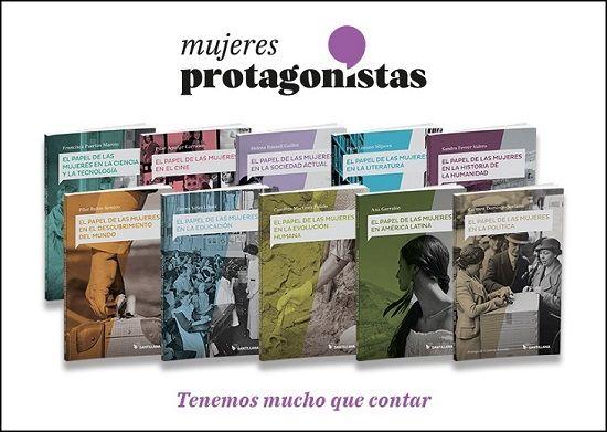 proyecto mujeres protagonistas de santillana