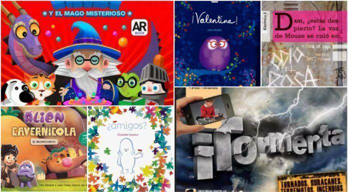 Libros educativos con realidad aumentada