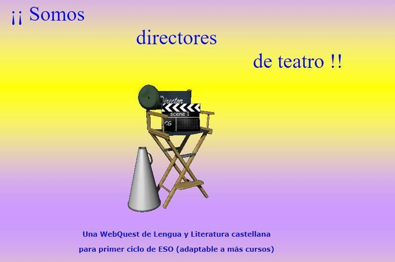 Somos directores de teatro