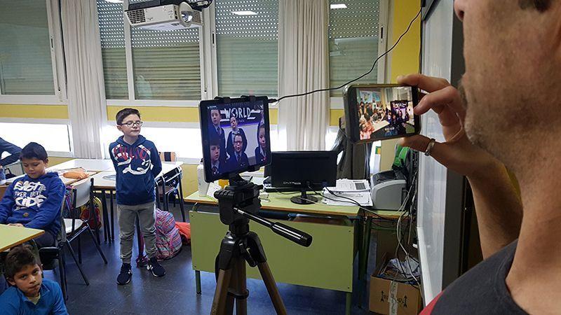 Global Schoolars Clases dinámicas con tecnología