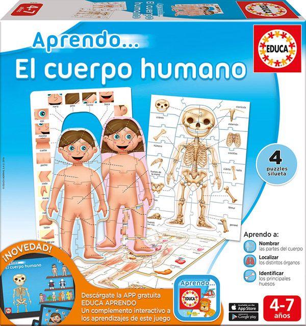 aprendo juego cuerpo humano