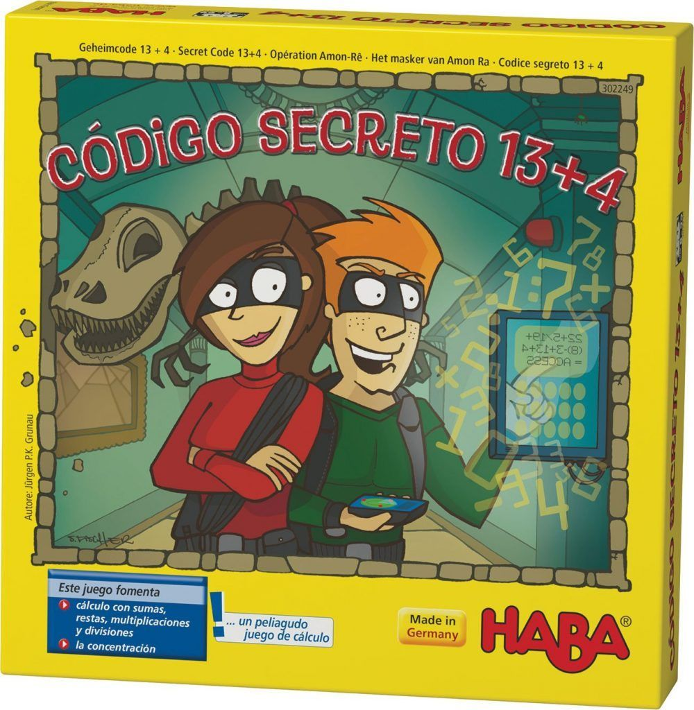 Código Secreto 13+4