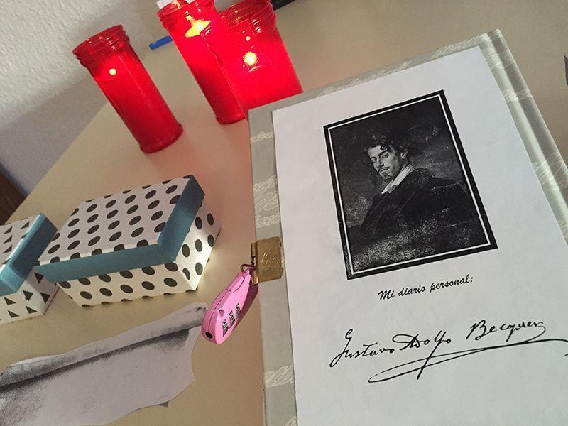 escape room con Gustavo Adolfo Bécquer
