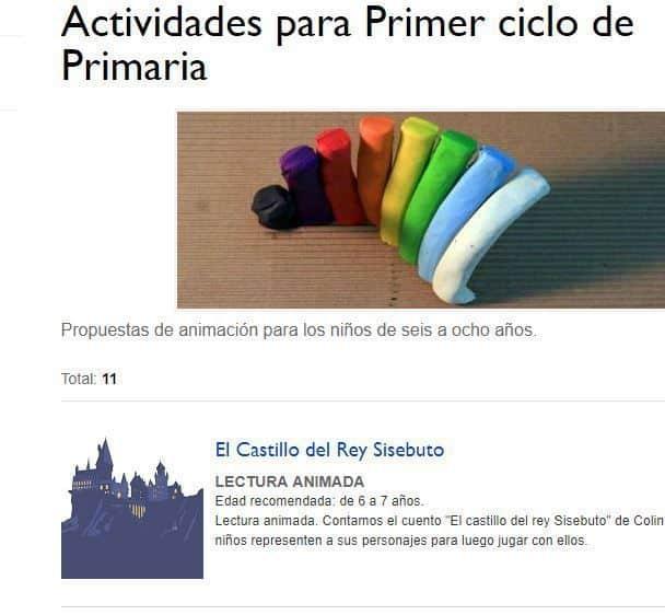 Lecturas Ayuntamiento Madrid