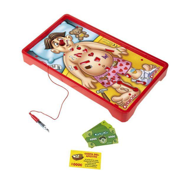 operación juego cuerpo humano