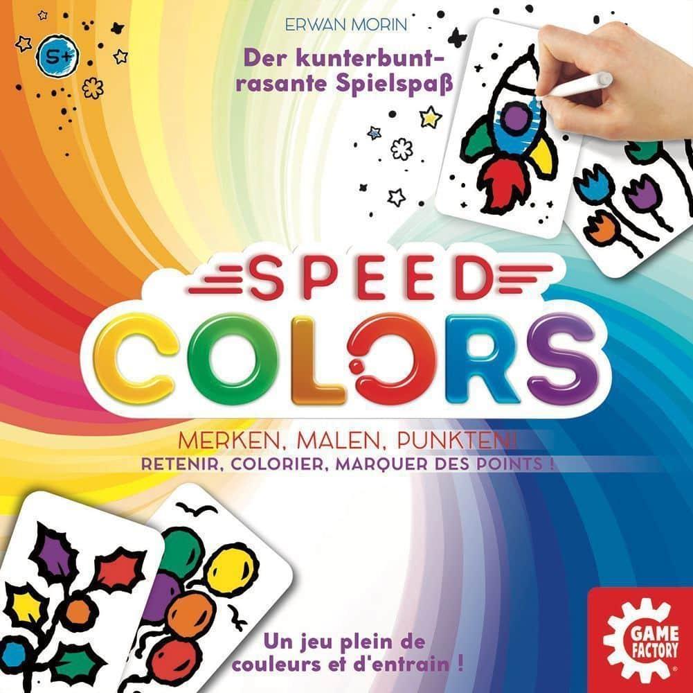 Speed Colors Aprendizaje Basado en Juegos