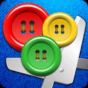 app Botones y tijeras