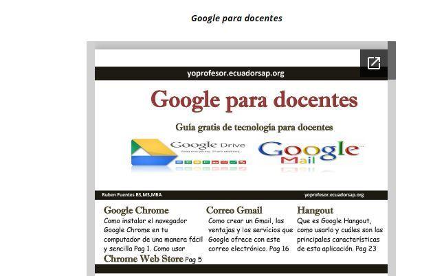 Herramientas de Google enfocadas a la docencia