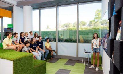 mobiliario en el aula