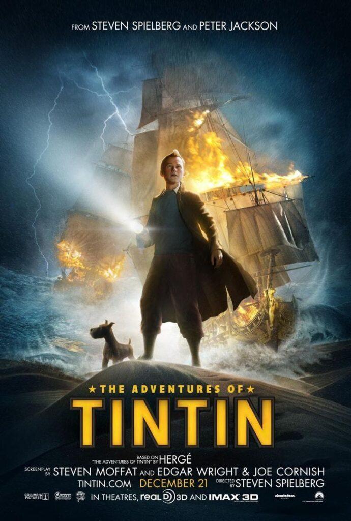Peliculas basadas en cómics Las aventuras de Tintín