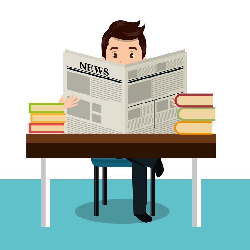 Leer periódico para hacer clases más divertidas