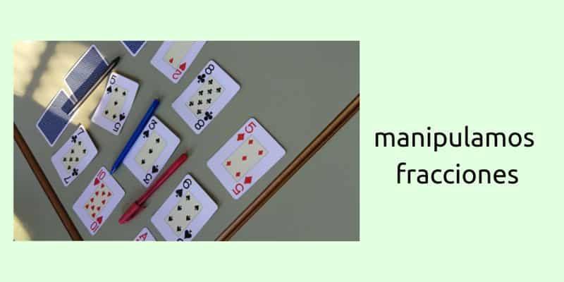Manipular fracciones