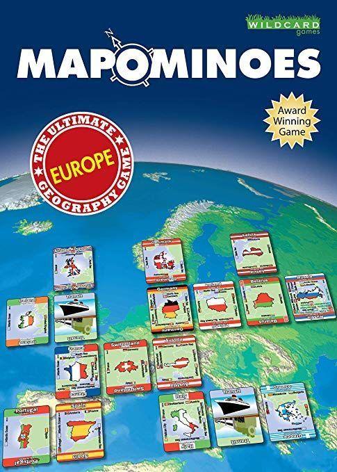 Mapominoes Juego de mesa para repasar geografía