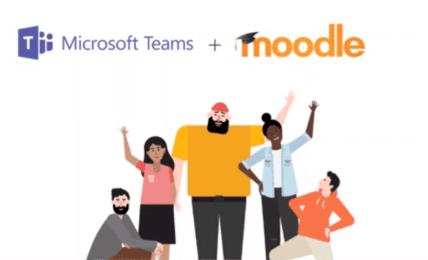 moodle y microsoft teams