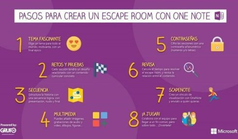 Montar un escape room con Onenote