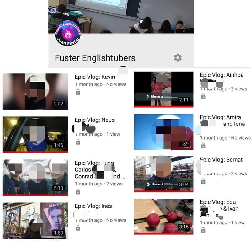 Fenómeno youtuber Inglés