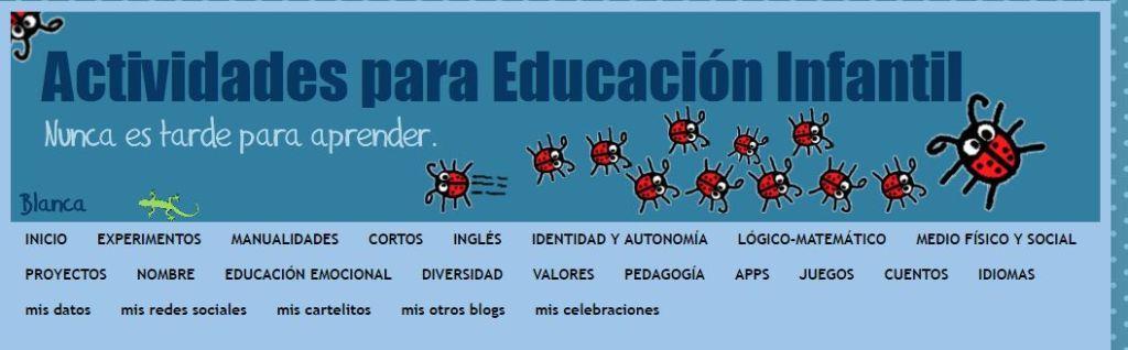 Actividades Educación Infantil Blog