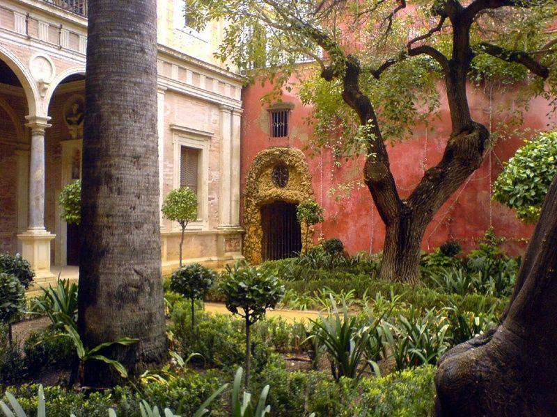 Jardines-Casa de Pilatos-Sevilla