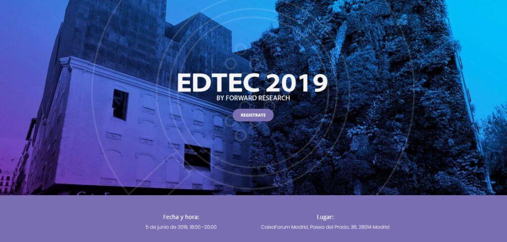 EDTEC eventos educativos de junio 2019