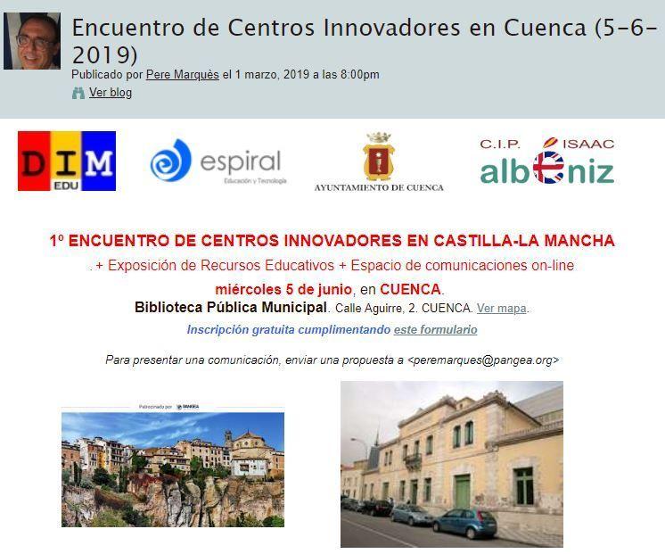 1º Encuentro de Centros Innovadores en Castilla-La Mancha
