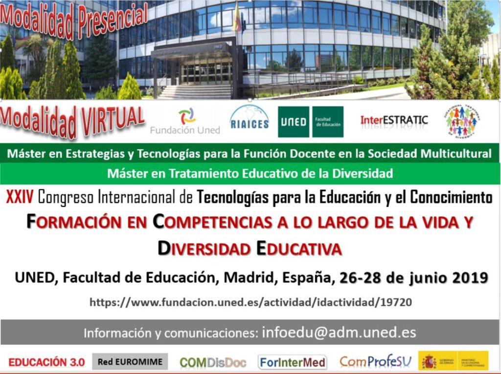 Congreso Internacional de Tecnologías para la Educación y el Conocimiento