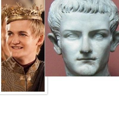 Joffrey Baratheon como Calígula