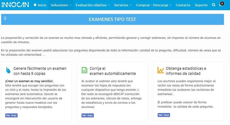 Gexcat examenes