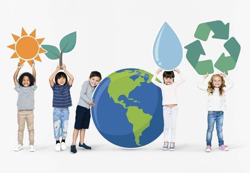 niños medioambiente
