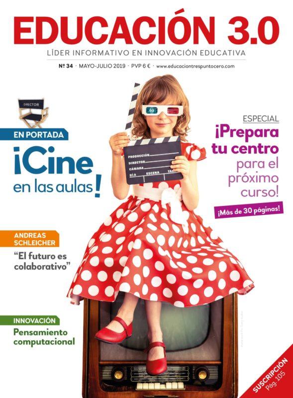 portada revista 34 educación 3.0
