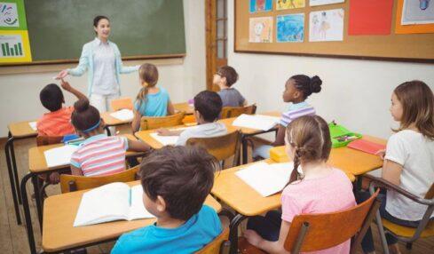 salud postural en clase