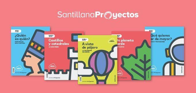 Libros santillana proyectos