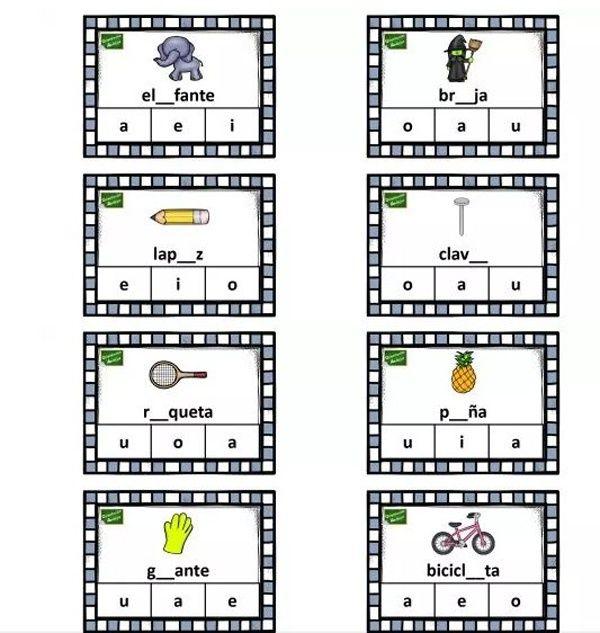 tarjetas vocales Orientación Andújar