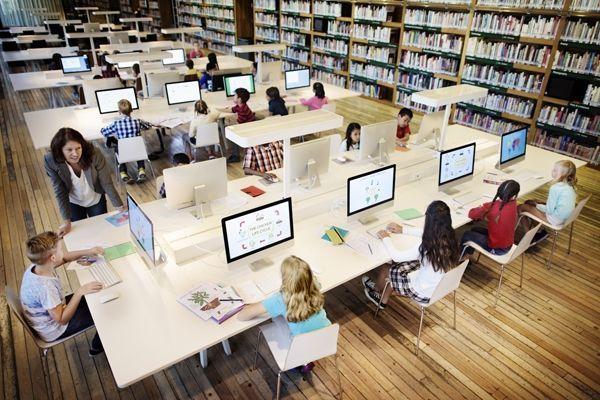 alumnos bibliotecas en la sociedad digital