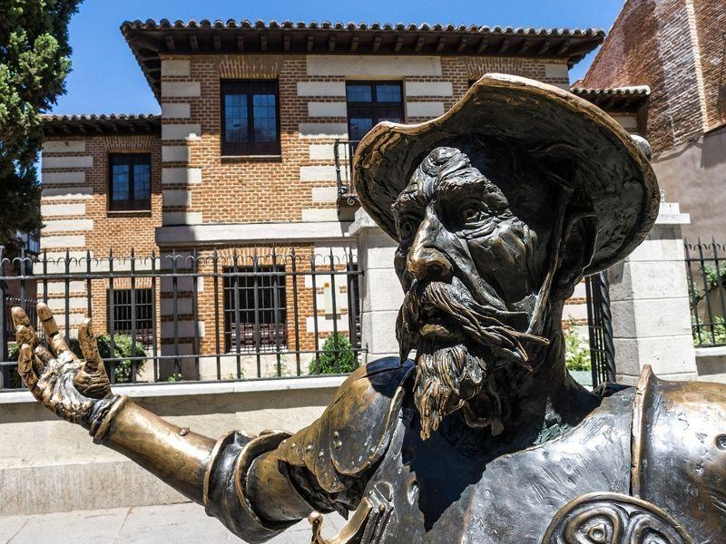 Don Quijote Alcalá de Henares ruta teatralizada