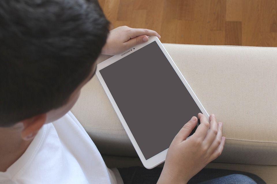 Uso de la tableta en el aula