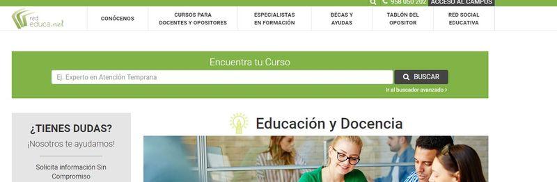 Rededuca.net cursos de verano para docentes