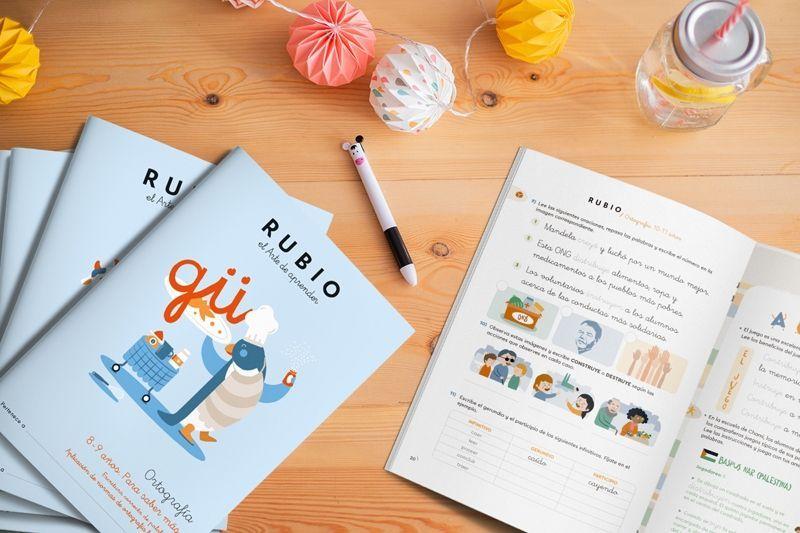 Rubio cuadernos ortografía